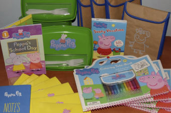 Back to School with a Peppa Pig Backpack Packing Party