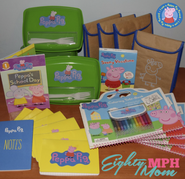 Peppa Pig Backpack Packing Party