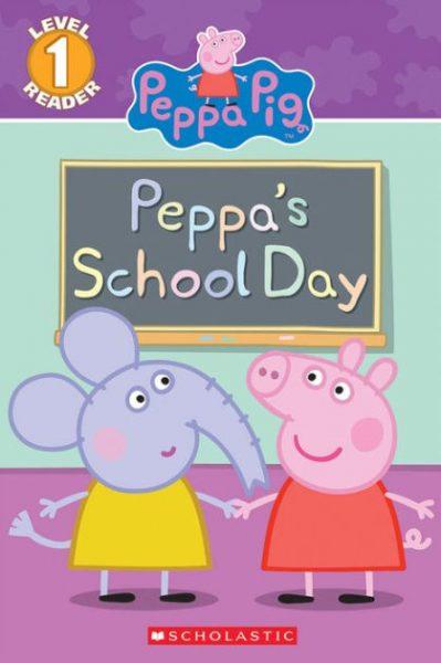 Peppa Pig Peppa's School Day Book