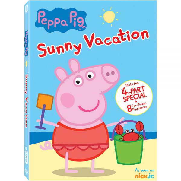 Peppa Pig Sunny Vacation DVD