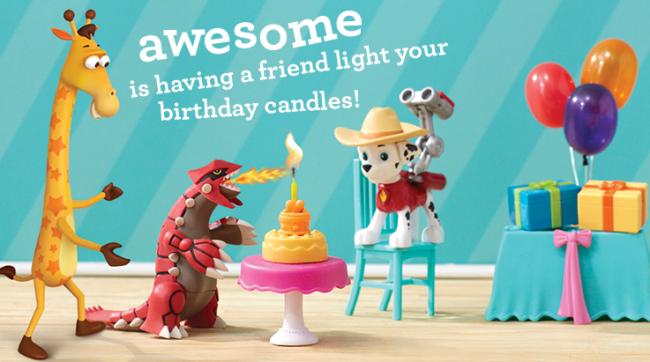 """Toys""""R""""Us Geoffrey's Birthday Club, Awesome"""