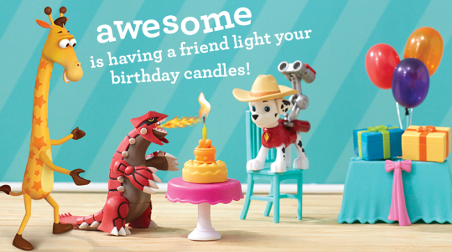 Toys For Your Birthday : Celebrate your awesomemoment with geoffrey s birthday