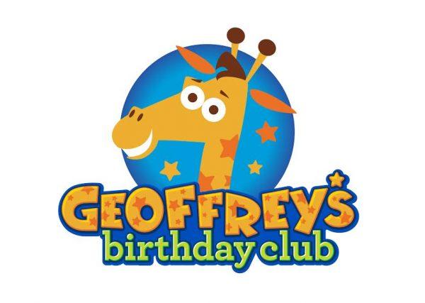 """Toys""""R""""Us Geoffrey's Birthday Club Logo"""