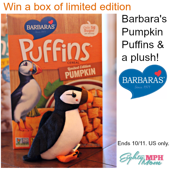 Barbara's Bakery giveaway