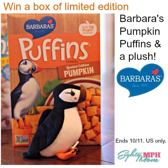 Barbara's Bakery giveaway