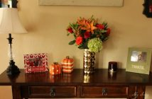 Fall Decor Soft Table