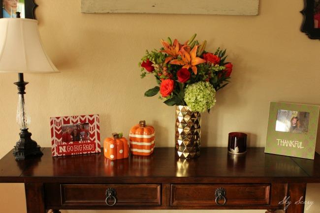 Fall Decor Soft Table