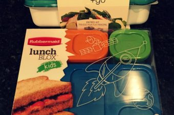 Lunchtime Made Easy with Rubbermaid Lunchblox and Fasten + Go