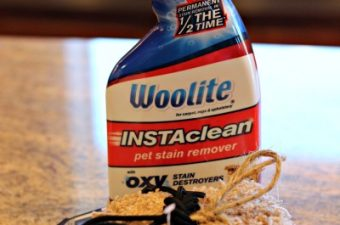 How fast is Woolite INSTAclean?
