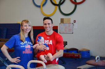 A Day in the Life of an Olympian's Wife and New Mom