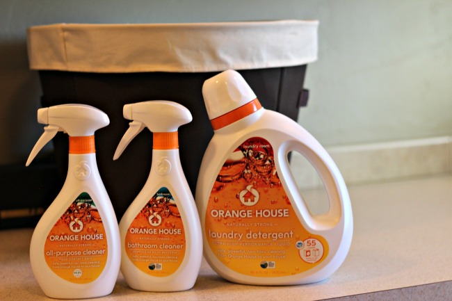 orange house laundry detergent