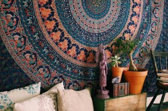 Beautiful Mandala Tapestries from Rajrang {Review}