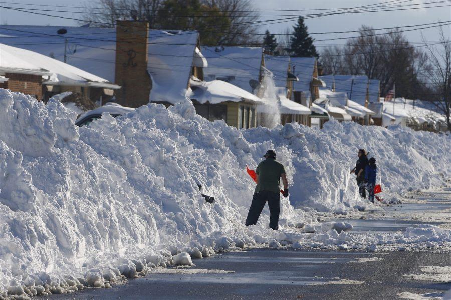 Buffalo, NY 2014 Snowvember - Photo Credit, John Hickey, Buffalo News