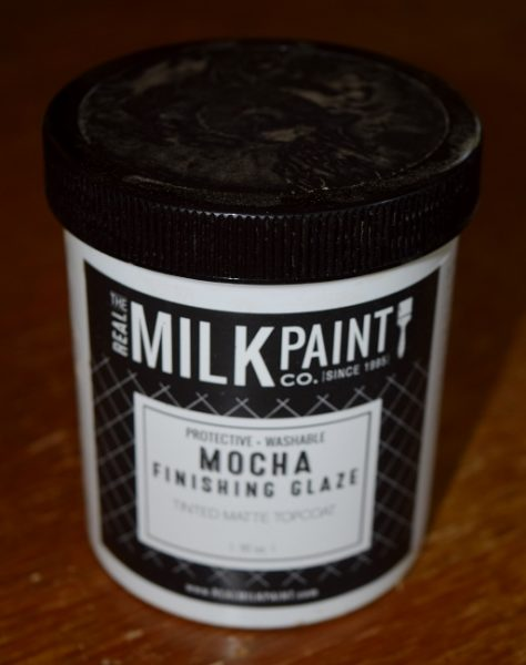 Real Milk Paint, Mocha Finishing Glaze