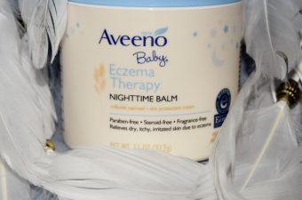 Soothe Baby's Skin with Aveeno's New Baby Eczema Therapy Nighttime Balm