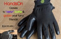 HandsOn Gloves giveaway