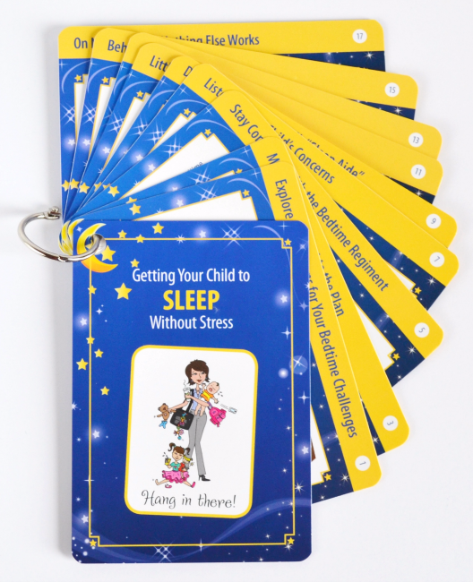Hang In there cards Toddler Collection Getting your child to sleep
