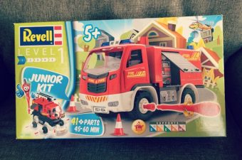 Young Children Can Enjoy Building with Revell Models Junior Kits – Review