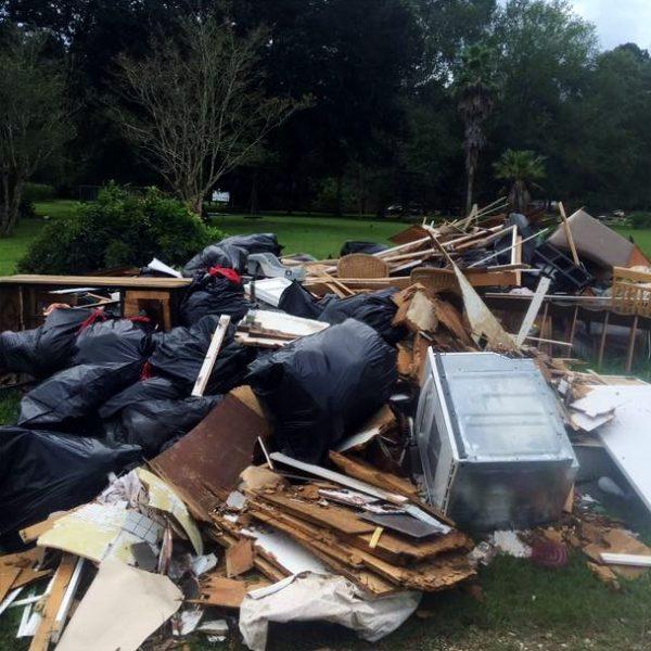 Louisiana 2016 Devastation After Flooding - Photo Credit, The Unforgotten Haven