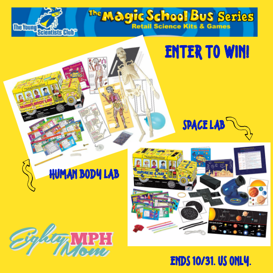 MAGIC SCHOOL BUS GIVEAWAY