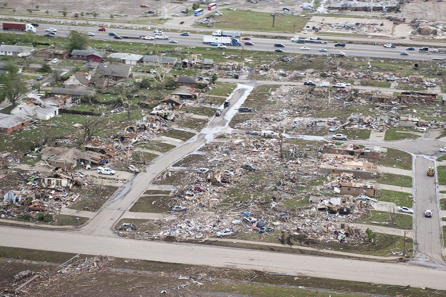 Moore Oklahoma 2013 Tornado - Photo Credit, Oklahoma National Guard