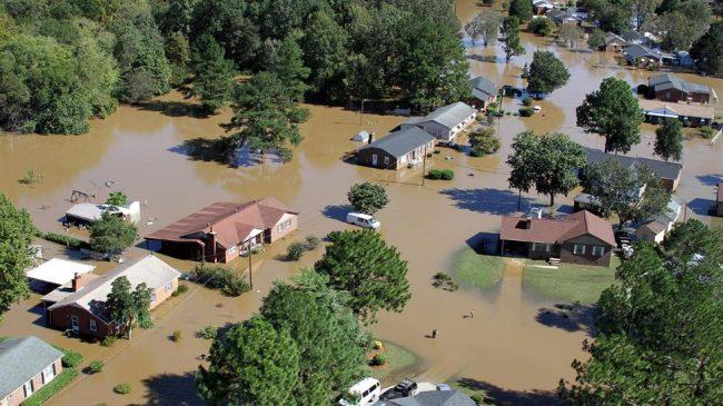 NC Flooding from 2016 Hurricane Matthew - Photo Credit, Thomas Babb, The News & Observer via AP