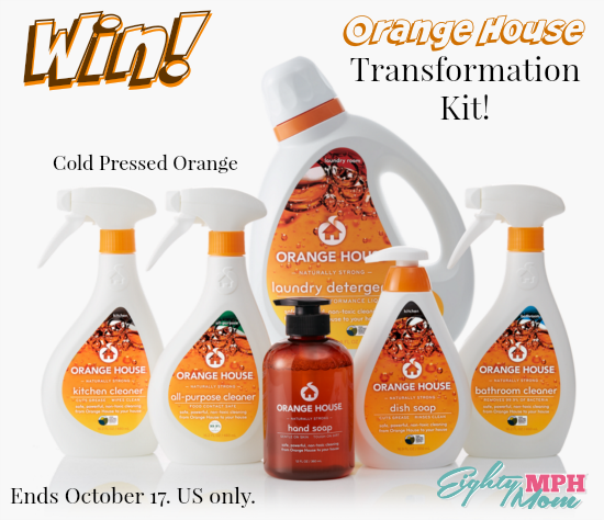 Orange House Giveaway