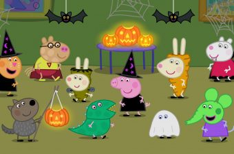 Halloween Pumpkin Party Fun with Peppa Pig
