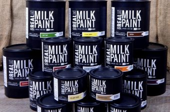 Bring New Life to Old Furniture with Real Milk Paint – paint made with milk!