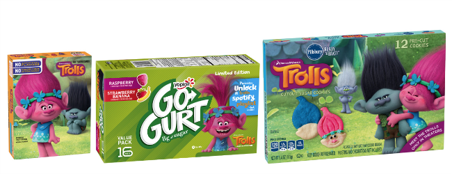 Trolls limited edition Go-Gurt