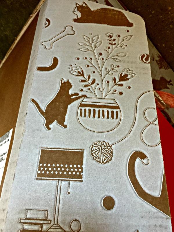 Curio-Craft shipping box