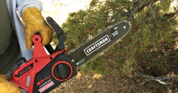 "craftsman 10"" cordless chainsaw"