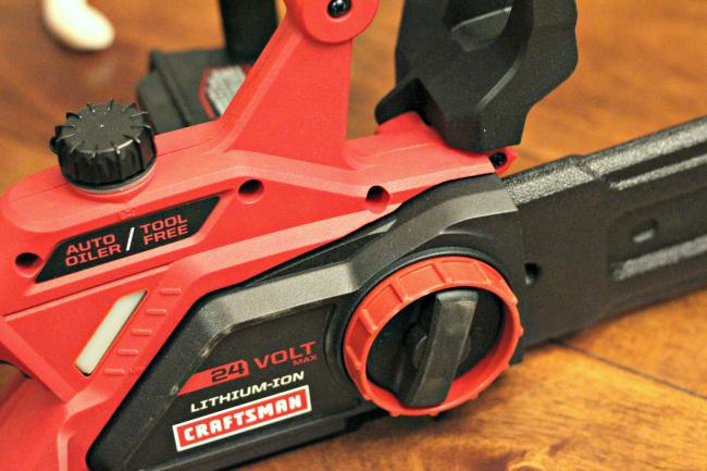 craftsman 24 volt cordless chainsaw