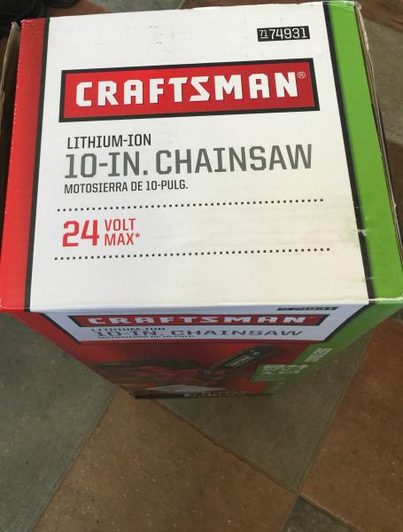 Craftsman 24V MAX* LI-ION 10