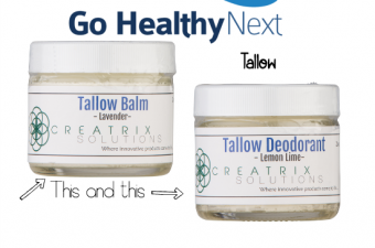 Go Healthy Next Tallow Balms & Deodorants