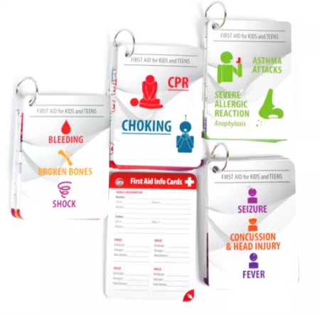 hang in there first aid cards