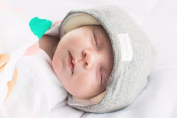 Hush Hat offers quiet for babies - Eighty MPH Mom  428489f5d35