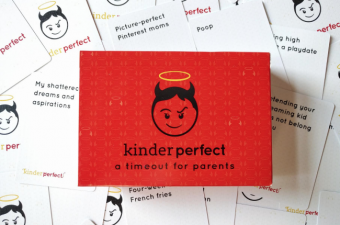 Kinderperfect game the hilarious time out game for parents!