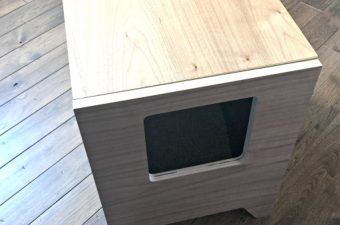 Curio-Craft cat litter box, it looks like furniture!