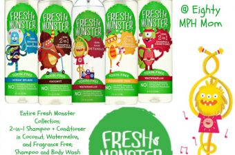 Great Hair Care Products for Kids from Fresh Monster