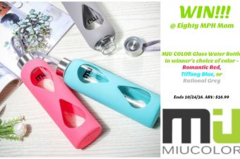 Stay Hydrated with MIU COLOR Glass Water Bottles