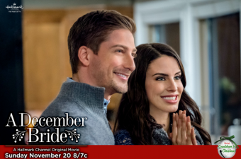 "Hallmark Channel's ""A December Bride"" this Sunday, Nov 20th  at 8pm/7c!"