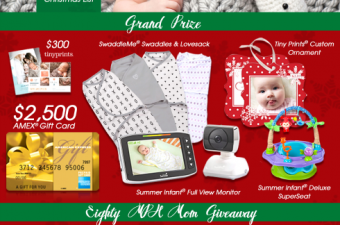 Baby's First Wishmas Sweepstakes & Blog Giveaway {SwaddleMe & Tiny Prints}