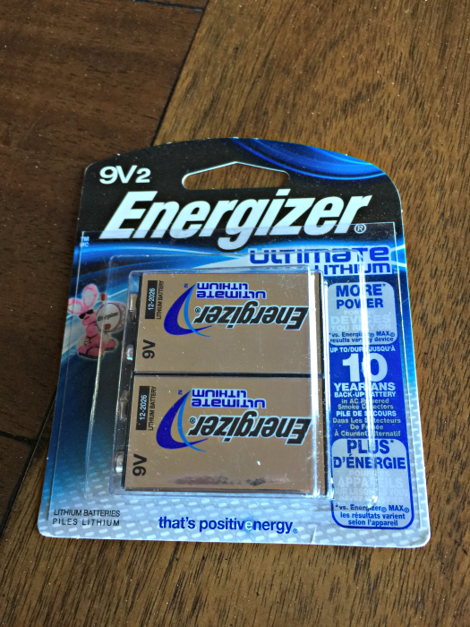 Energizer 9Vbatteries #StillGoing