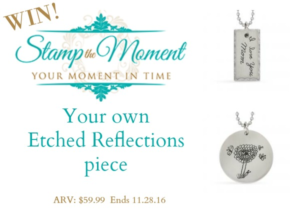 Etched Reflections Giveaway