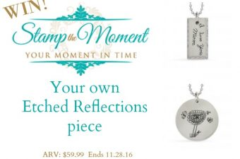 Etched Reflections from Stamp the Moment