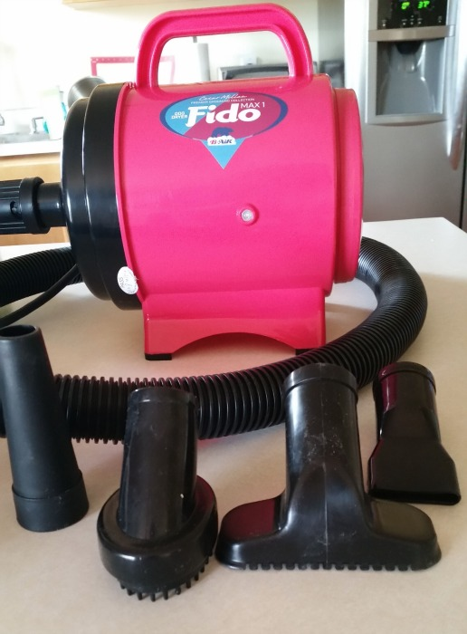 Fido Max dog dryer by B-Air