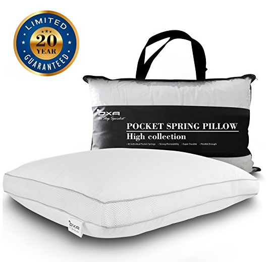 spring bed pillow