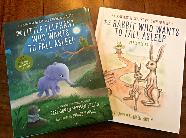The Little Elephant and Rabbit who Want to Fall Asleep books
