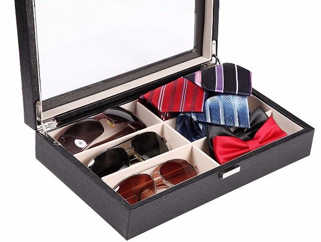 Vlando Sunglasses Storage Organizer1